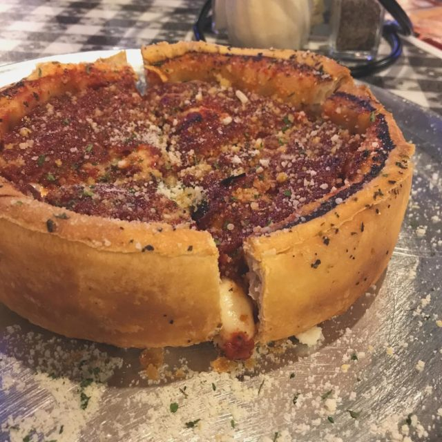 Yes I had my first Chicago style pizza pie inhellip